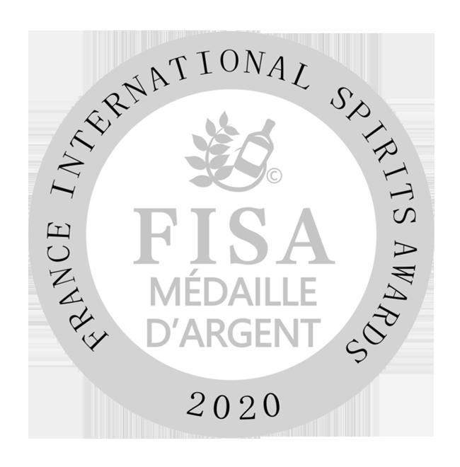 Gin sans alcool médaille FISA 2020